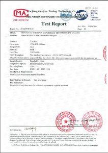 Certificat d'A453 660B