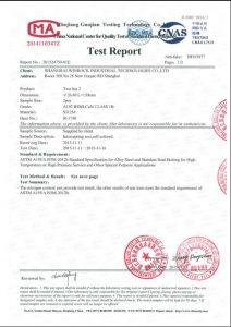 Certificat S31254