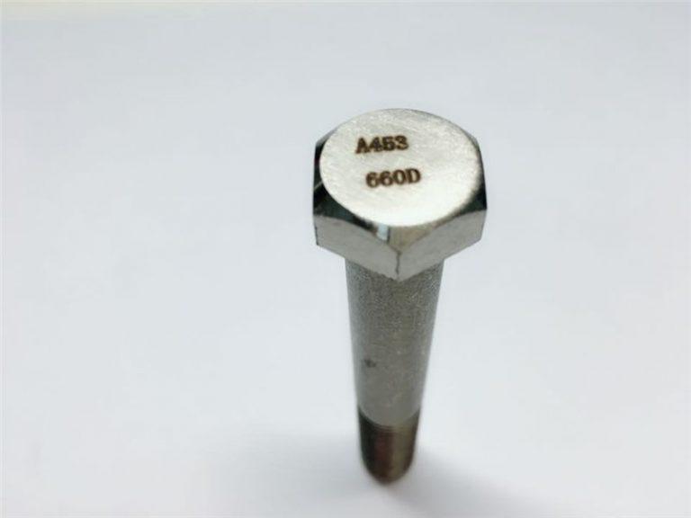 A286 fixacions d'alta qualitat astm a453 660 en1.4980 fixació de cargols de màquina de maquinari