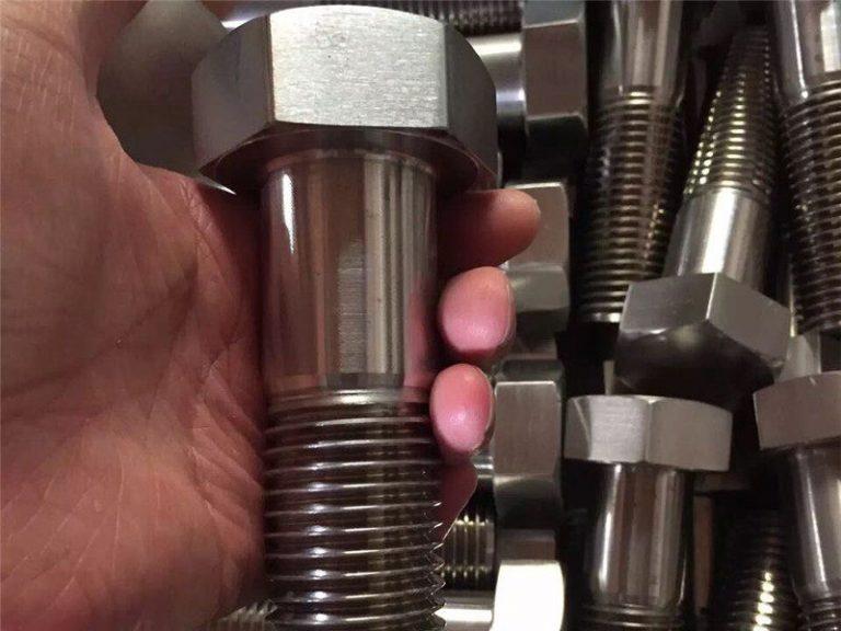 incoloy 825 en 2.4858 fixador de cargol de cargol d'acer inoxidable inconel718 en2.4668
