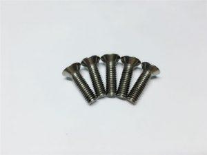 M3, cargol de titani M6 de cargol de capçal de capçal pla de cargol de cargol de cargol de titani per a cirurgia espinal