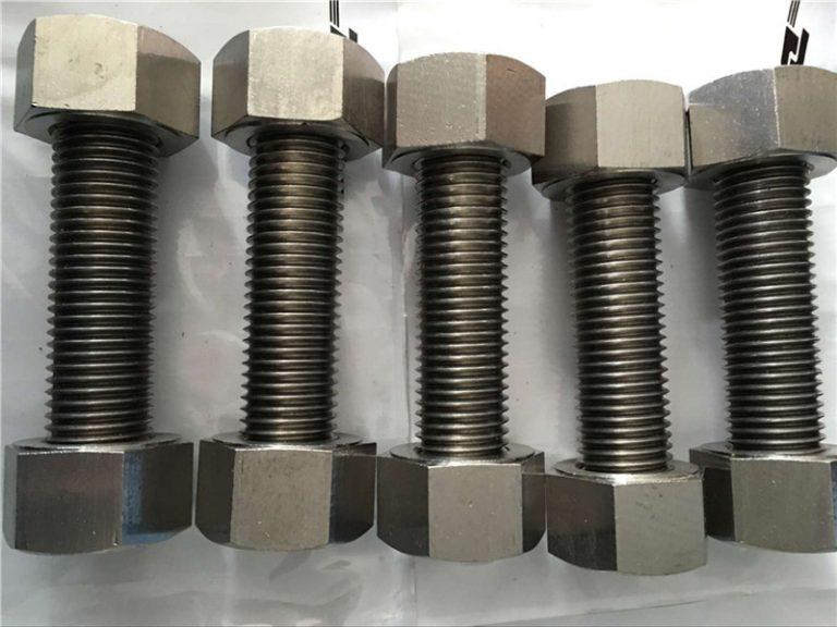 aliatge de níquel 400 en2.4360 canya de fil completament amb fixador de femelles