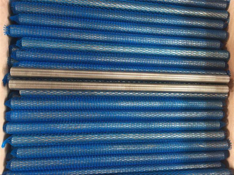 aliatge de níquel inconel601 / 2.4851 béns roscats trapezoïdals de nous productes