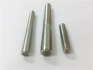 Nº101-317L barra rodona, fixador de varetes de fil