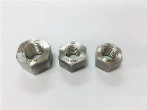 Nº109-S31254 A193 B8MLCuN femelles hexagonal gruixudes