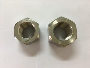 Nº111-Fabricació d'aliatge de níquel A453 660 1.4980 femelles hexagonal