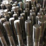 perns hexagonal ISO4014 mitjà de fil a193 b8, b8m, b8t, fixador b8c ss