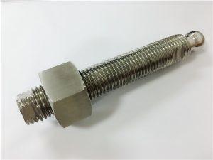No.22: Pernut i fixador de capçalera de bola d'acer inoxidable de fresat CNC