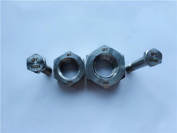aliatge de níquel c22 en 2.4602 tots els cargols de rosca nus hastelloy c 276