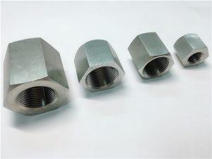 No.31-Durable en ús mecanitzat a mida femella femella femella d'acer inoxidable hexàgon