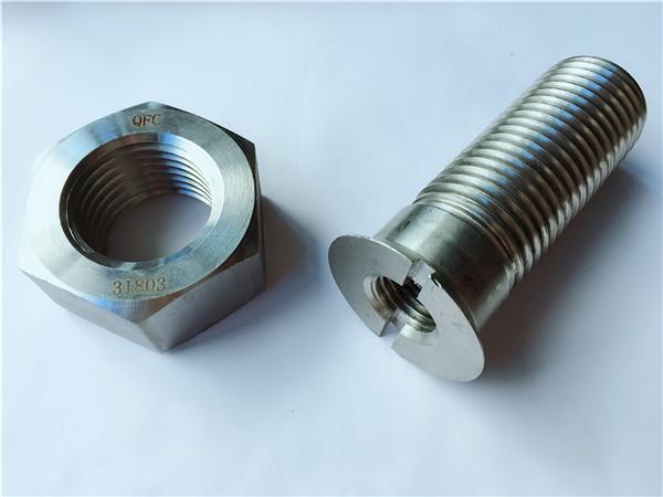 Bullidor i cargol de ferrell de metalls d'acer de carboni personalitzat