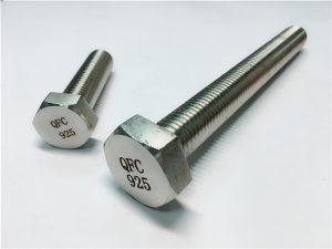 Rentadores de dents de cargol 925 de 5 ºC-Incoloy, de fixació aliatge 825925