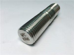 No.62-Barra roscada Monel K500