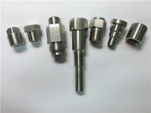 No.67: Torns d'acer inoxidable per a màquines de gran qualitat fabricades amb mecanitzats de cnc