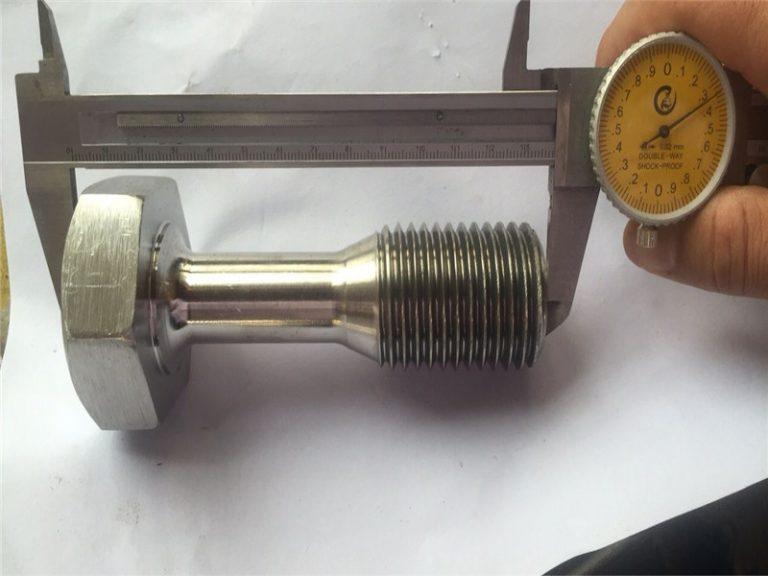 Fixació de cargol de mecanitzat de precisió de les peces de torn cnc personalitzades