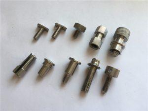 cargol personalitzat d'alta precisió de gran precisió, cargol de mecanitzat cnc d'acer inoxidable