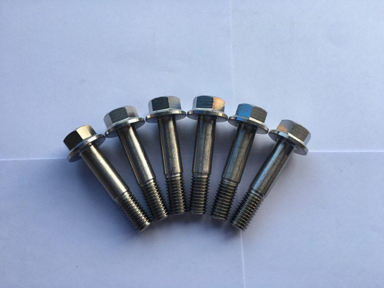 Din 7504 sudin 7504 super duplex f55 cargol autoperforador d'acer inoxidable de brida hexàgona