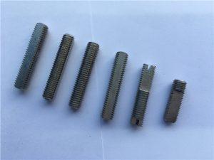 Excel·lent qualitat de cargol de soldadura de titani de fil complet de inox a la Xina