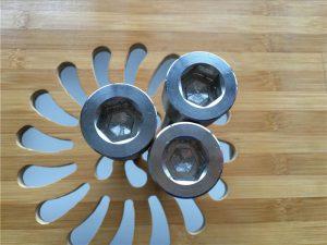 ASEM hexagonal d'alta qualitat de titani gr2 de cargol / cargol / rosca / rentadora /