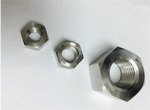 Dúplex 2205 / F55 / 1.4501 / S32760 fixadors d'acer inoxidable rosca hexagonal M20