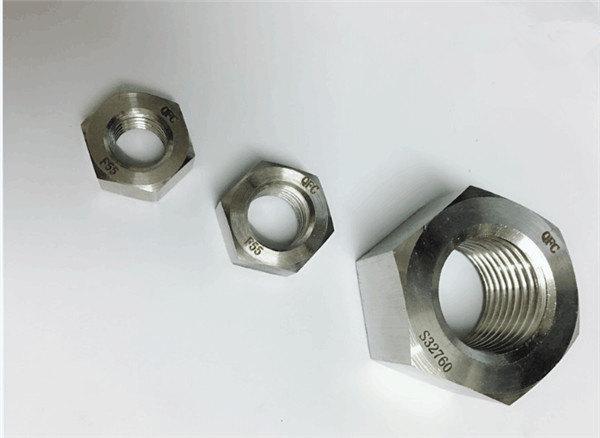 dúplex 2205 / f55 / 1.4501 / s32760 fixadors d'acer inoxidable rosca hexagonal pesada m20